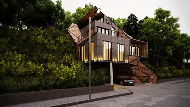 独立别墅设计 独栋别墅设计