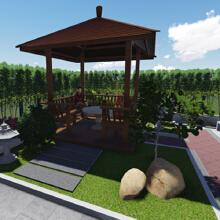 威客服务:[39290] 庭院景观设计