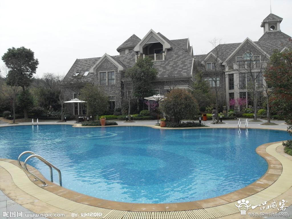 每一个小细节,都要有国家别墅泳池设计建造的标准参数.
