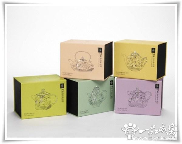 韓國茶葉包裝設計欣賞