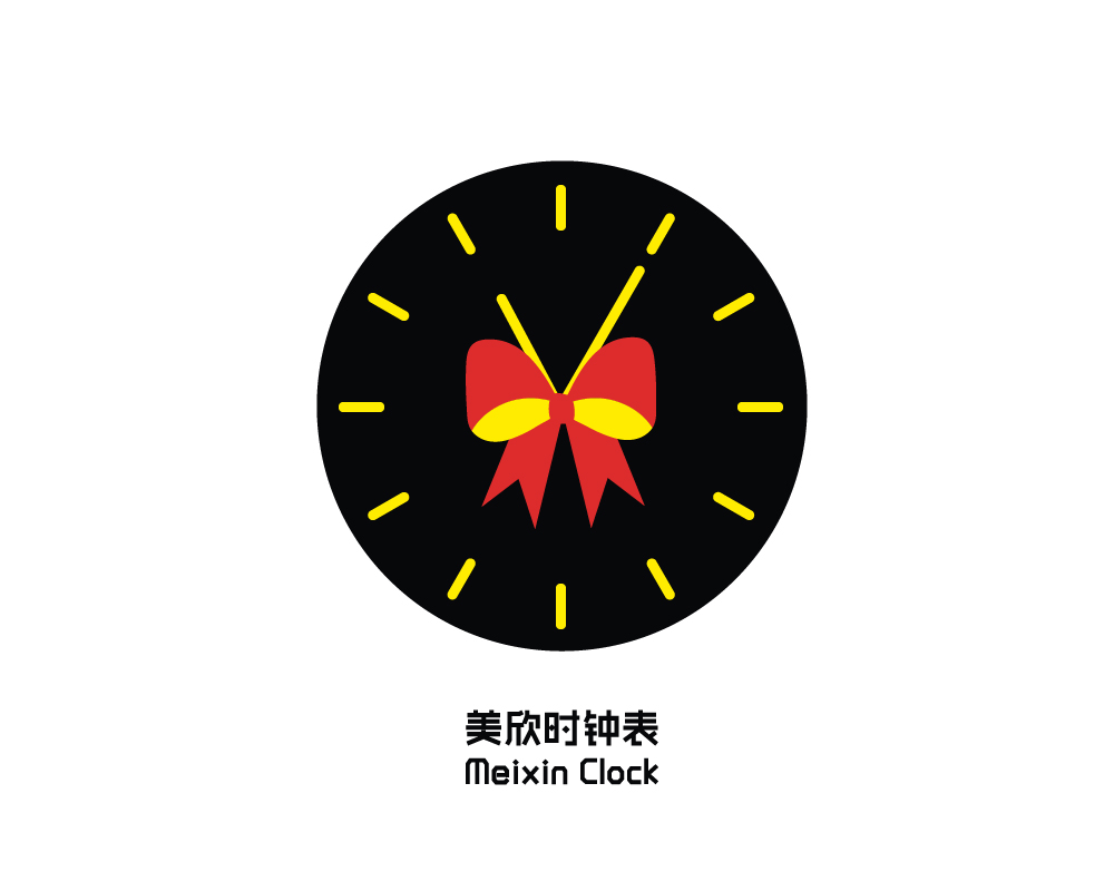 圆形钟表简笔画大全