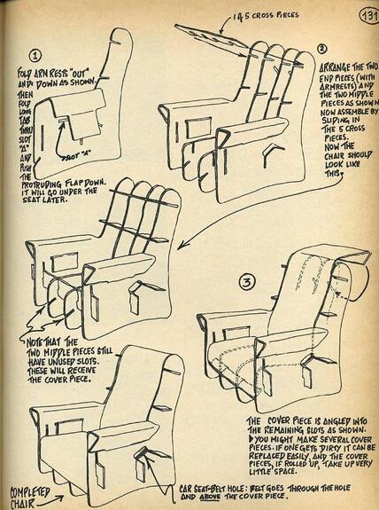 纸质家具设计图分享