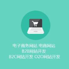 电子商务网站 电商网站 B2B网站开发 B2C网站开发 O2O网站开发