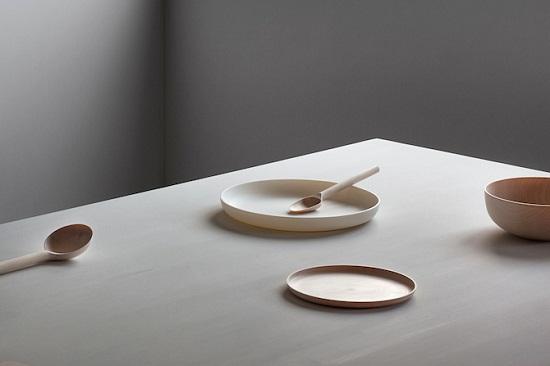 工业产品设计木制餐具用品