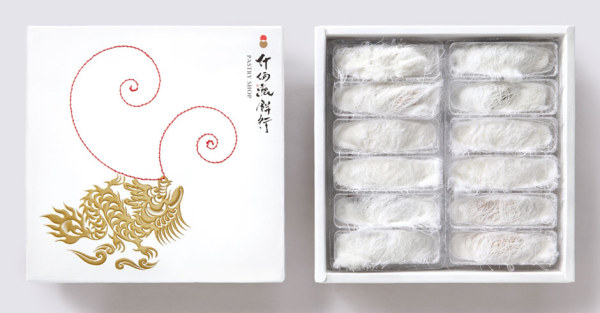 龙凤茶叶包装设计欣赏