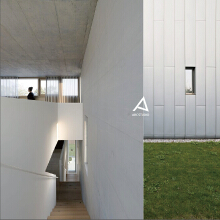 清水混凝土-办公空间设计