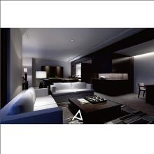 單身酒店式公寓效果圖