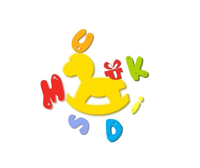 儿童标志矢量图
