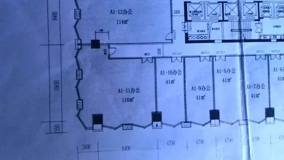 设计200平方办公室平面布局方案只要平面图图片