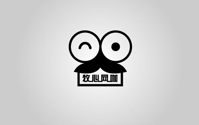牧心网咖logo设计【能力等级从高到低】_logo设计_/vi