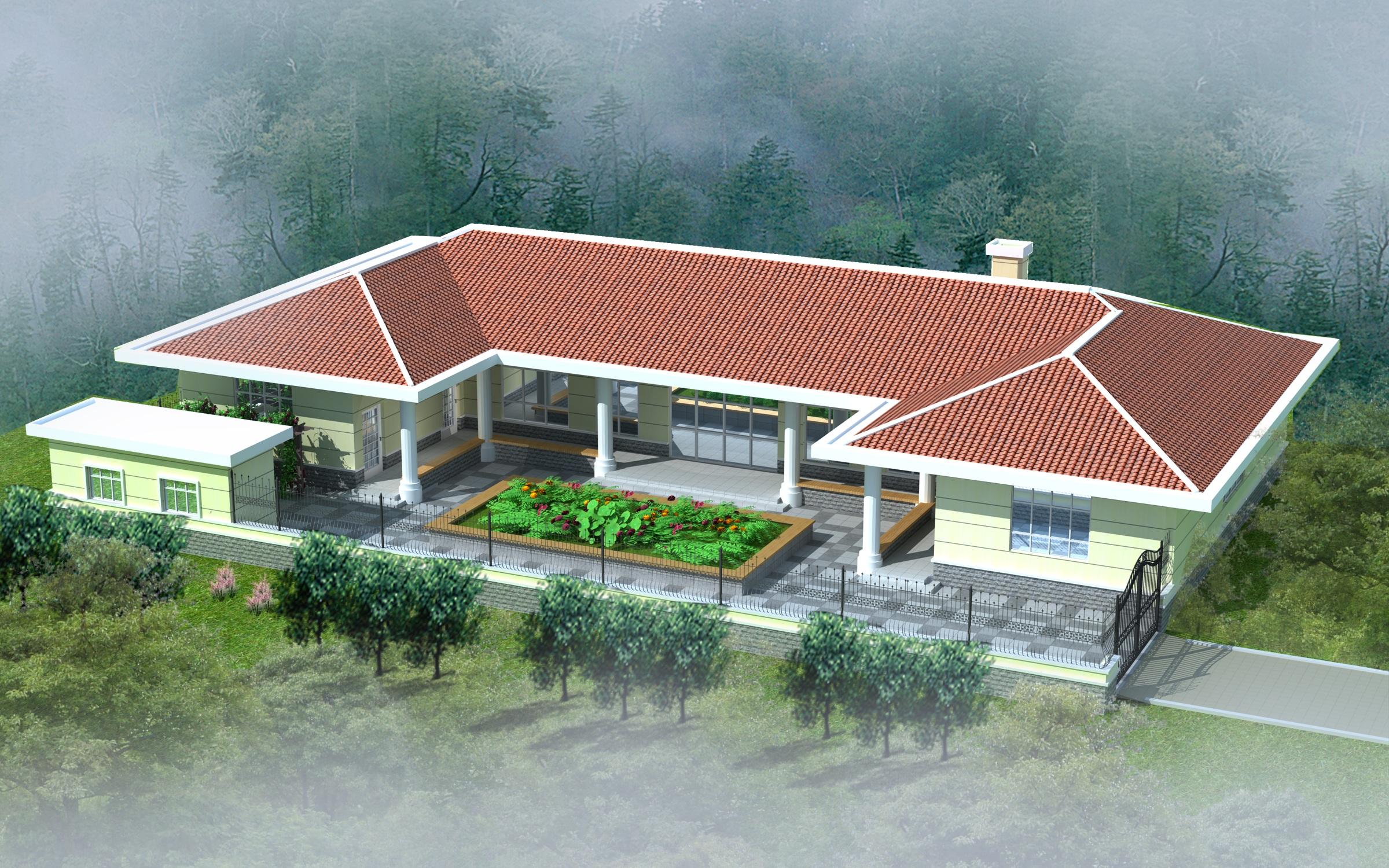 求图片 农村房屋设计图宽8米长10米
