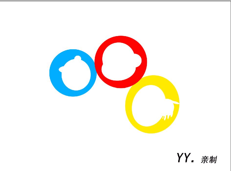圈圈村亲子体验王国logo设计