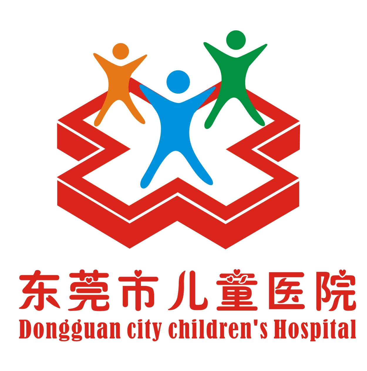 儿童医院logo设计_深圳蓝凤凰文化创意有限公司案例