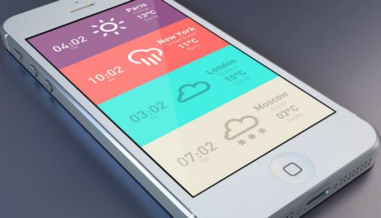 手机flash天气插件开发案例推荐
