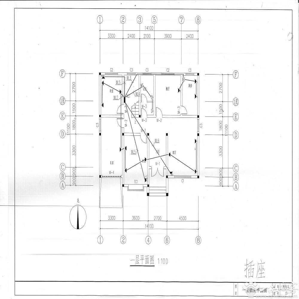 二层别墅(效果图+建筑