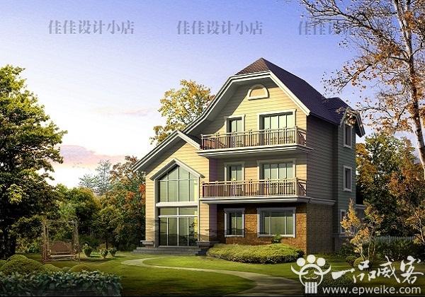 100平方米两层别墅简单设计图展示