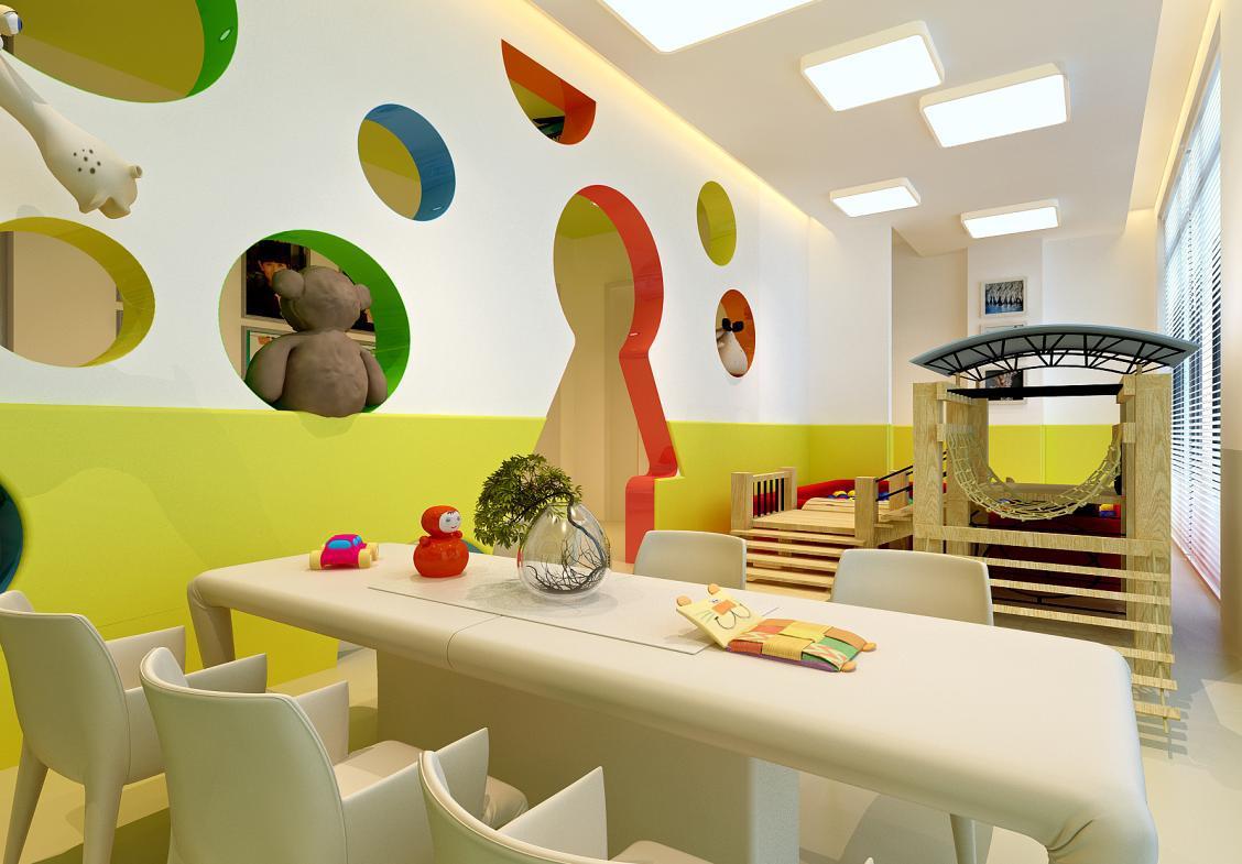 婴幼儿亲子游泳馆 儿童理发 早教幼儿园整体方案设计