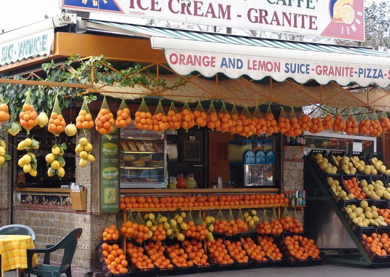 水果店面装修设计方案规划