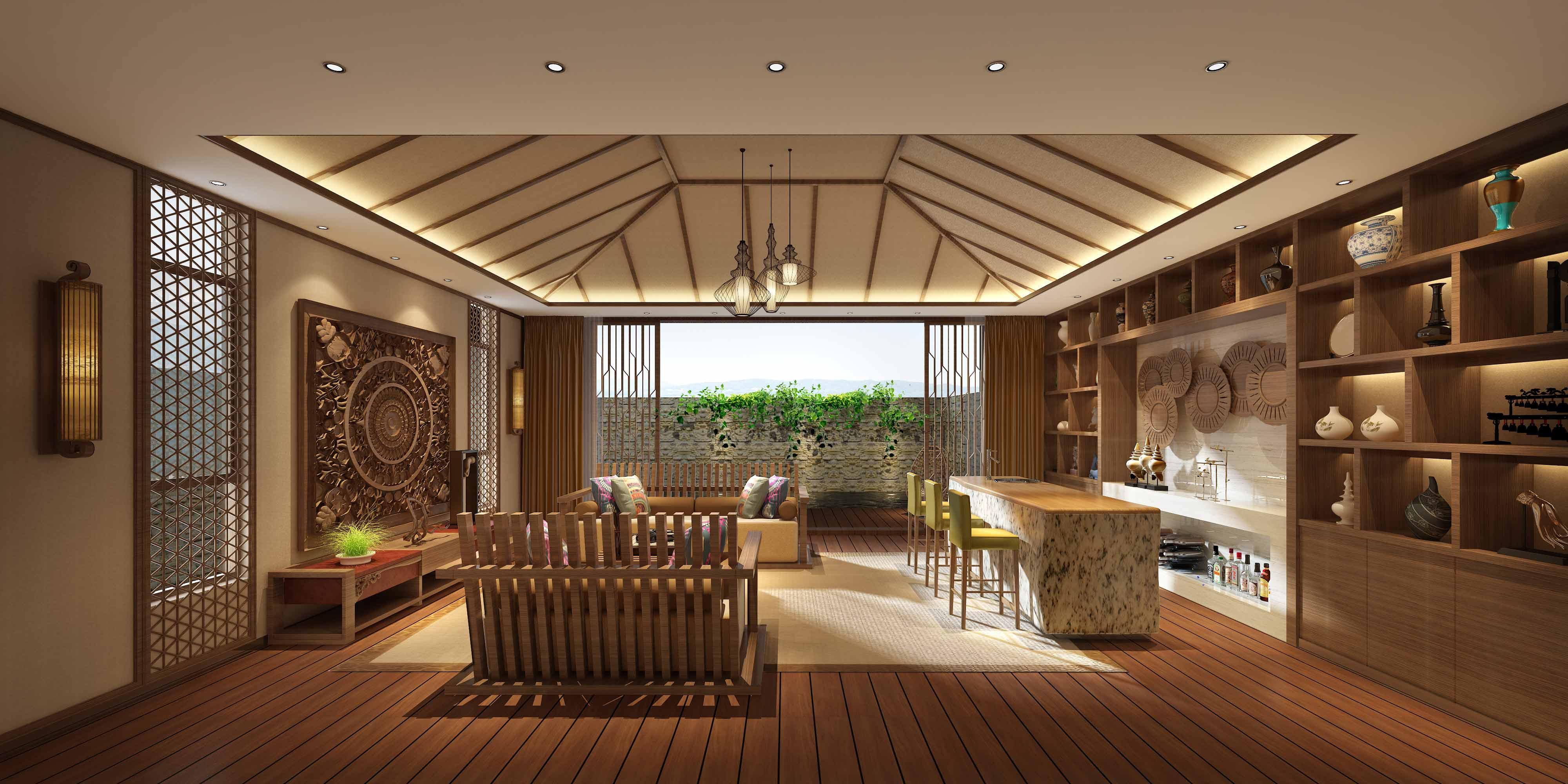 高端别墅设计_锐度设计工作室案例展示_一品威客网
