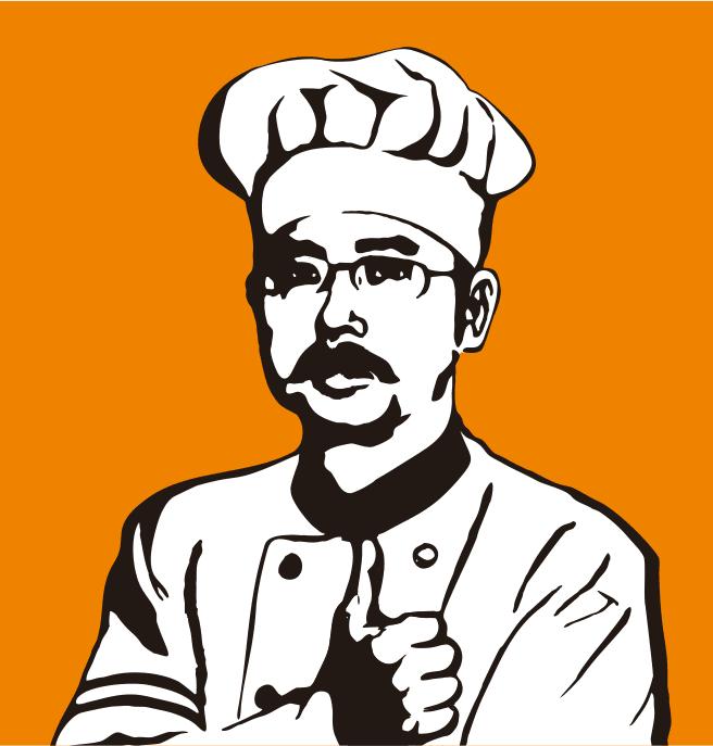 壹加壹美食坊logo设计图片