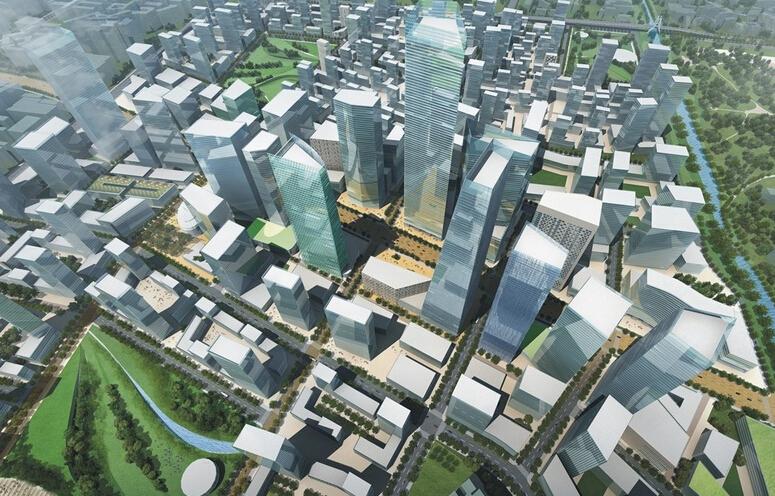 中央商务区CBD规划设计的基本特征