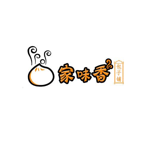 连锁包子店形象logo设计