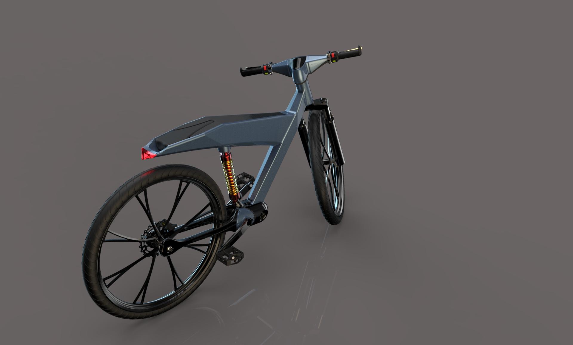 无链条电动自行车