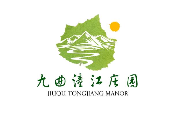 九曲潼江庄园 logo设计