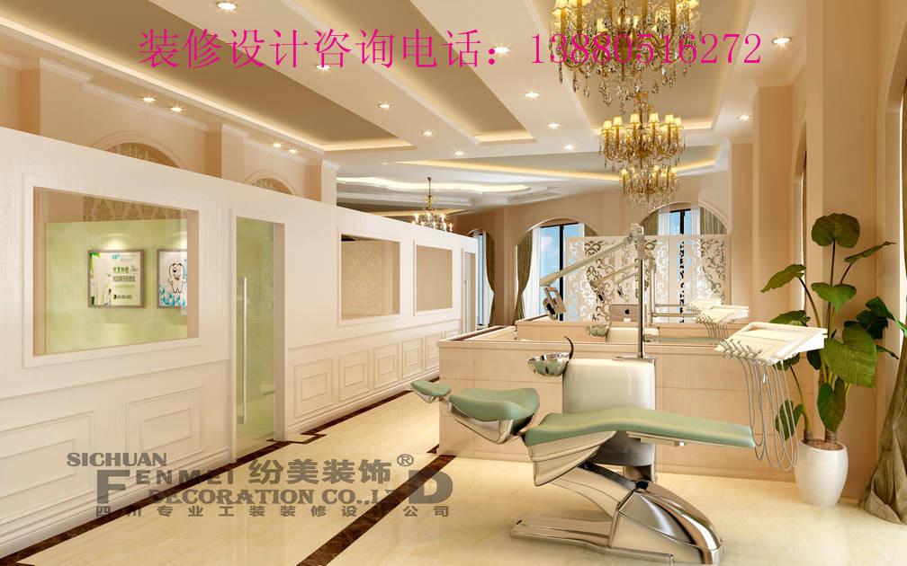成都牙科诊所平面布局规划设计/专业口腔诊所装修