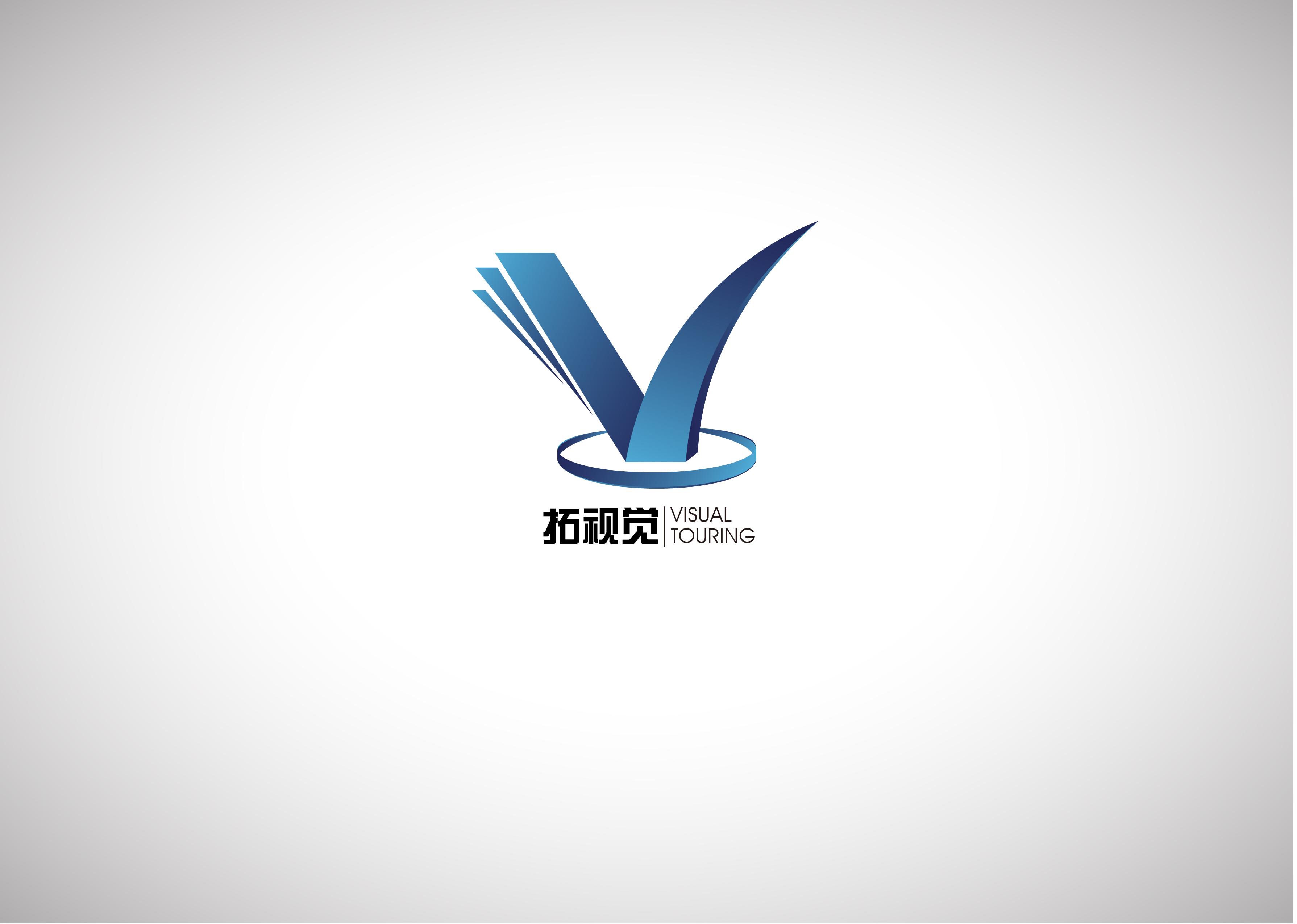 """""""拓视觉""""科技公司logo设计图片"""