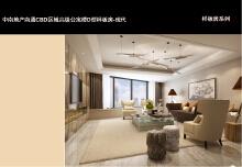 中南地产南通CBD区域高级公寓楼D型样板房-现代