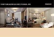 中南地产南通CBD区域高级公寓楼大平层样板房—简欧