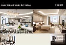 中南地产南通CBD区域高级公寓楼E型样板房