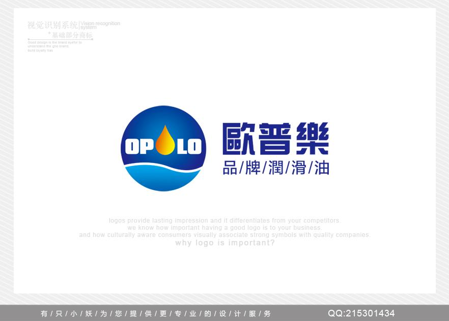 OPOLO 品牌润滑油 LOGO设计及修缮名片