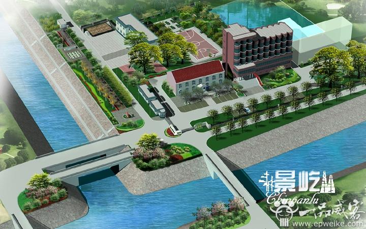单位办公楼园林景观规划设计厂区园林绿化设计休闲农庄生态园规划