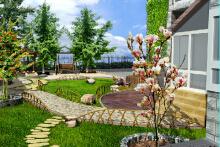 威客服务:[51808] 庭院景观设计