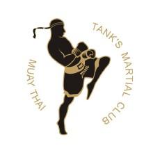 坦克泰拳武馆标志设计
