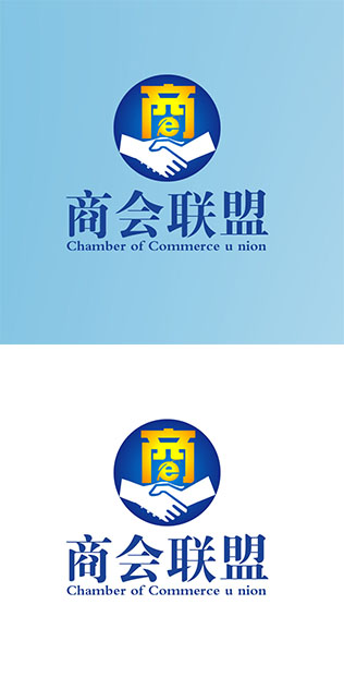 """""""商会联盟""""网logo设计"""
