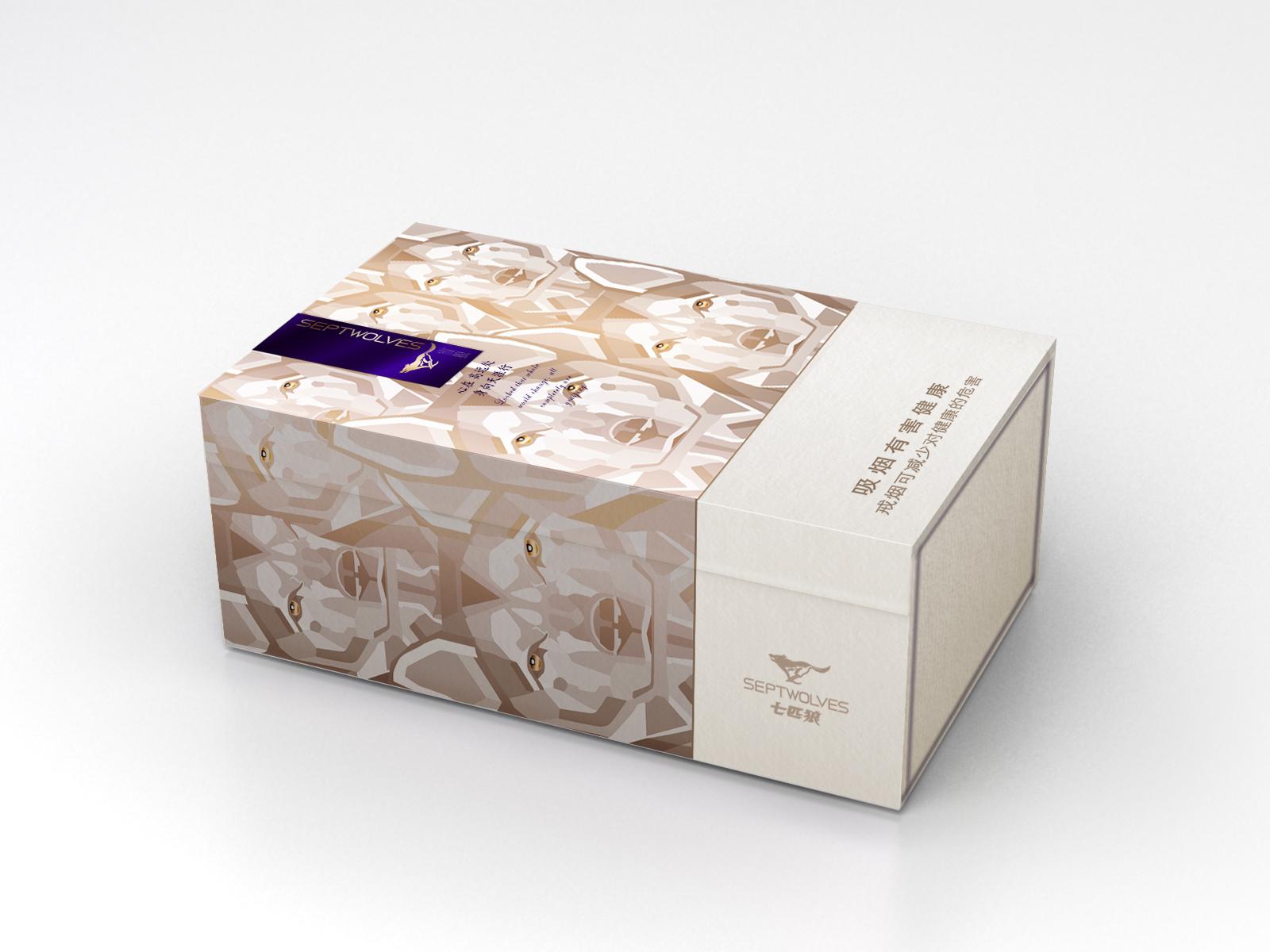 七匹狼香烟包装设计_集云广告创意工坊案例展示_一品