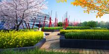 办公楼景观设计