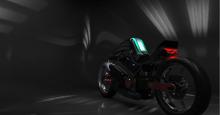 吉利集团自主品牌概念摩托车外观设计