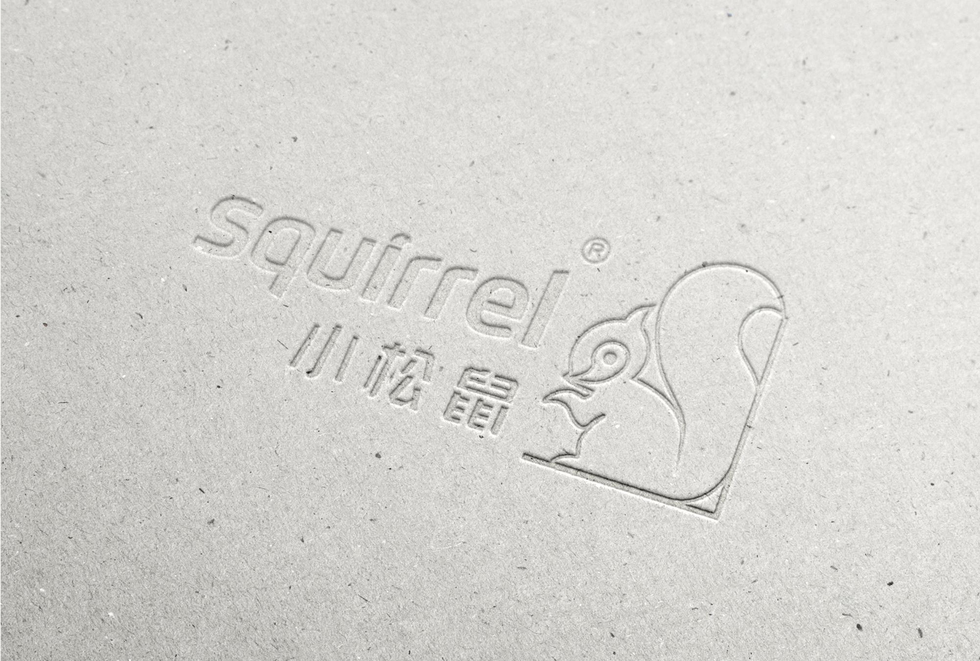 小松鼠壁挂炉logo设计