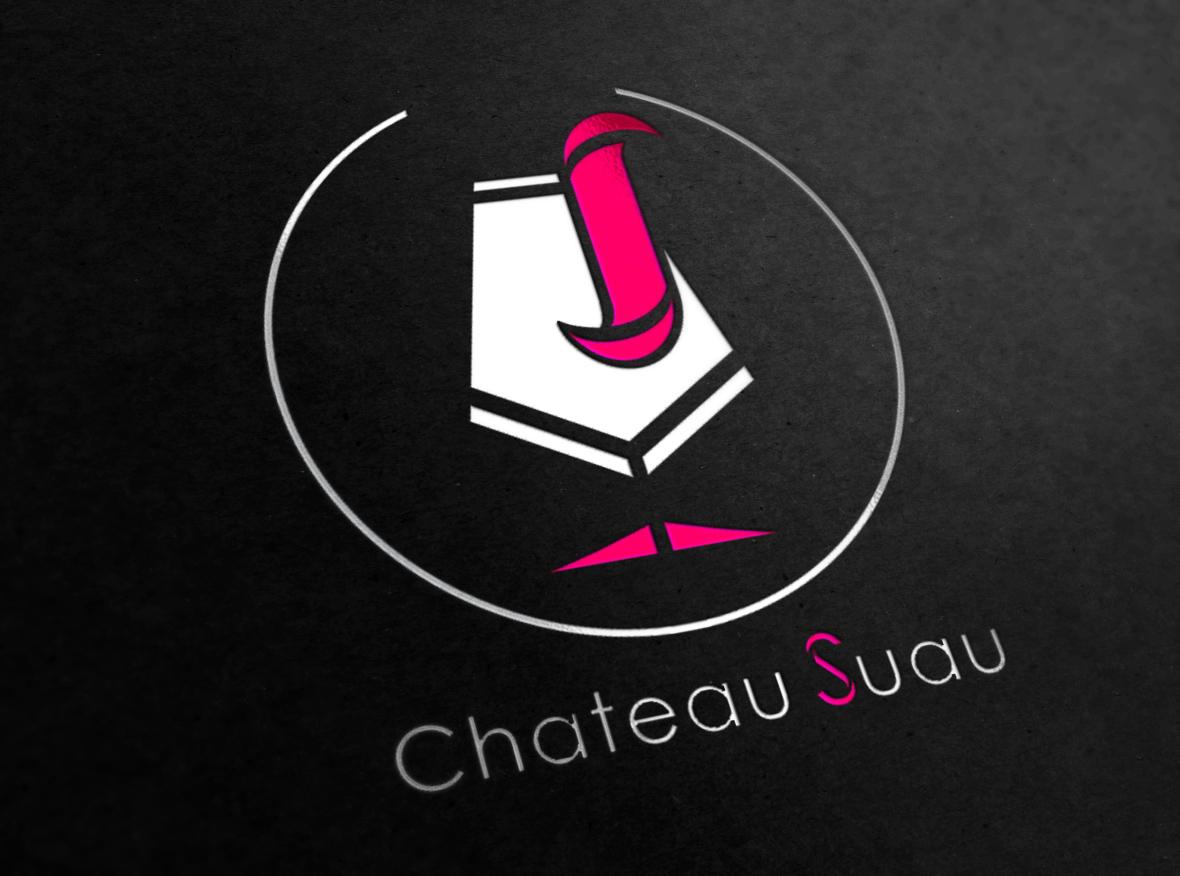 红酒logo设计
