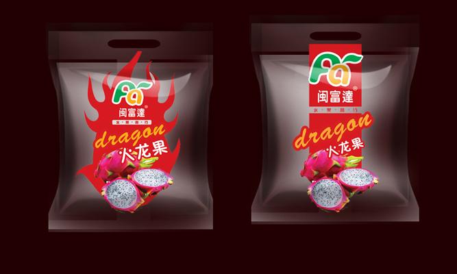 征集火龙果透明包装袋图片
