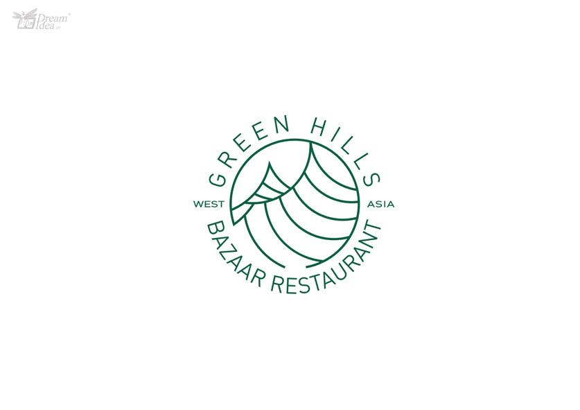 綠山集市餐廳(精品logo設計方案)_夢創意dreamidea,夢