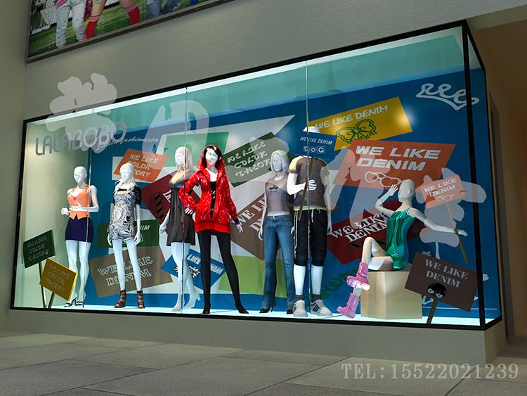 商业街橱窗设计_瑞图工作室案例展示_一品威客网图片