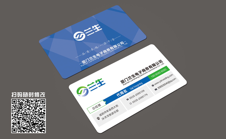 电子商务有限公司logo和名片设计