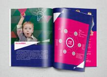 教育机构宣传册设计