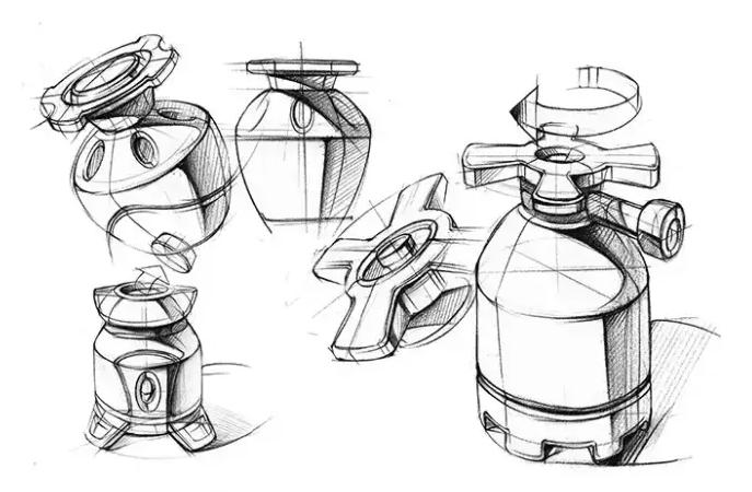 手绘是工业设计师的必备技能