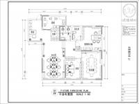 IT行业小型办公室装修布局图设计